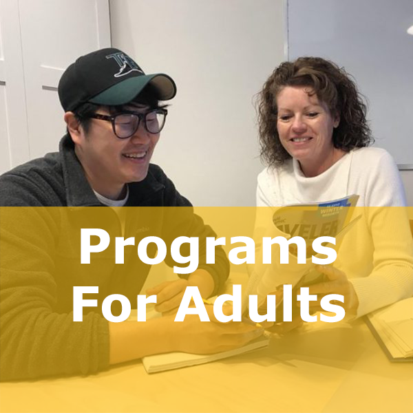 programs for adults button