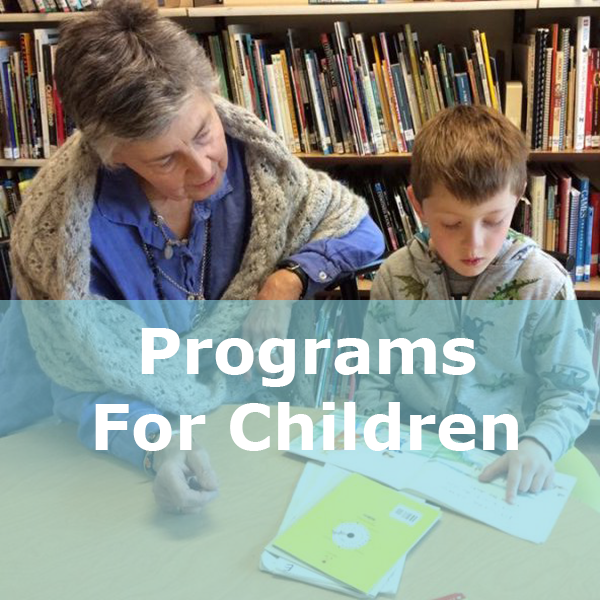 programs for children button
