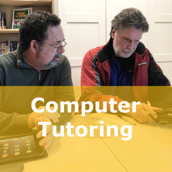 computer tutoring button
