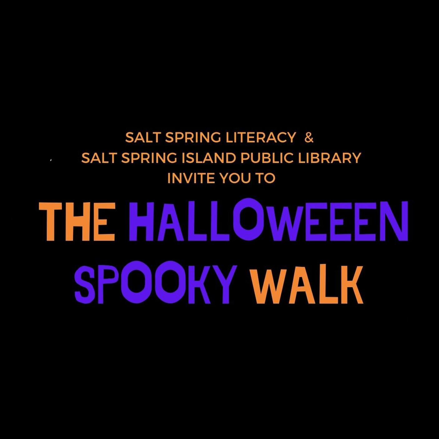 Halloween Spooky Walk Icon