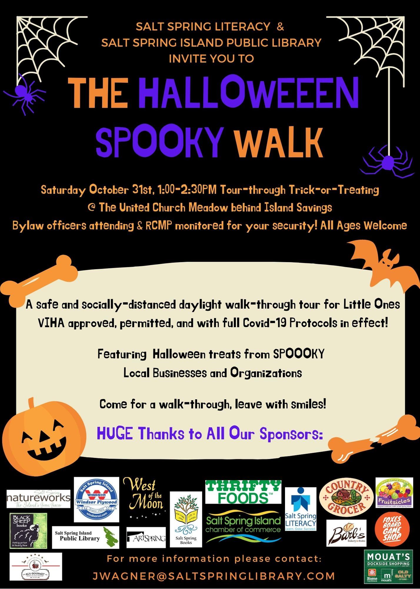 Halloween Spooky Walk Poster