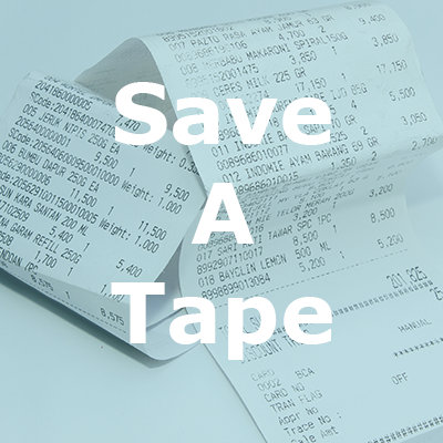Save-A-Tape button